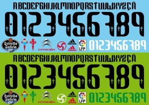 Celta de Vigo font