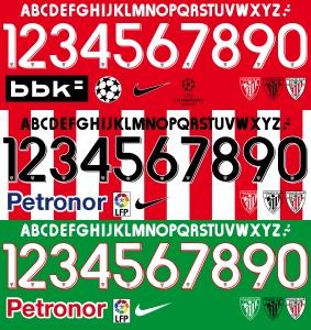 Athletic 2015 font