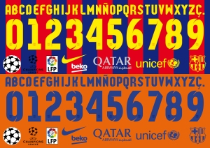 Barcelona 2015 font