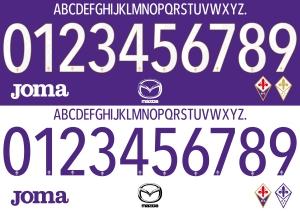 Fiorentina 2015 font