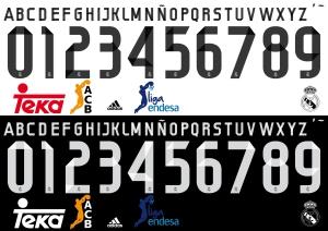 Real Madrid Basket 2015 font