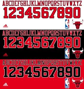 Chicago Bulls font