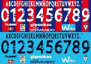 Eibar 2015 font