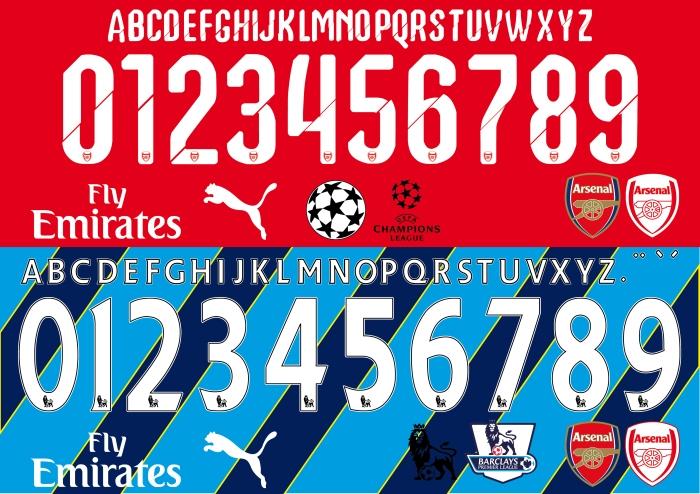 Arsenal Font