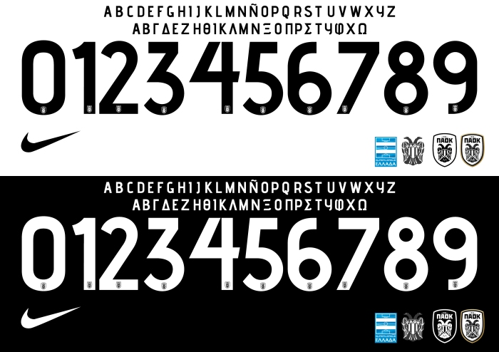 PAOK 2015 font