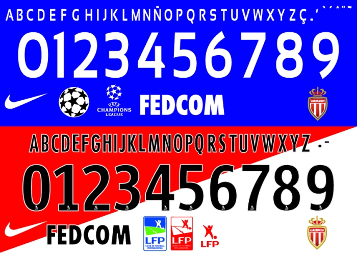 Monaco 2015 font