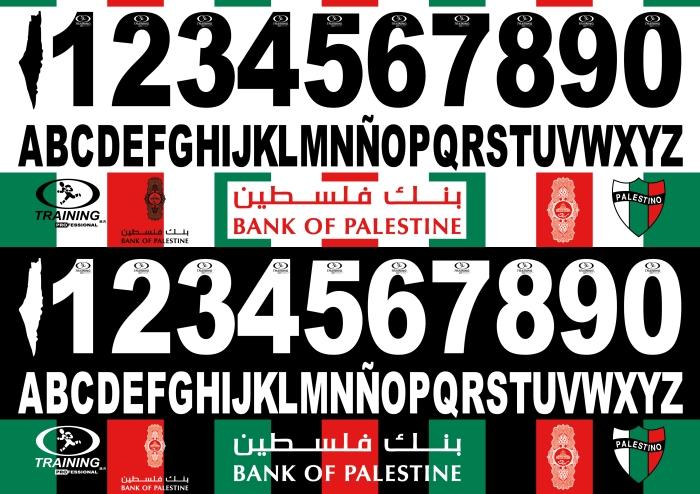 Palestino 2015 font