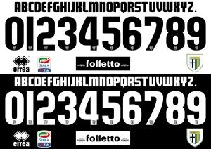 Parma 2015 font