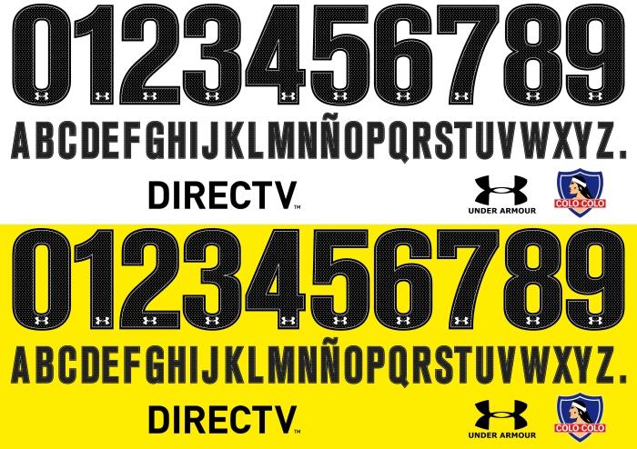 Colo Colo 2015 font