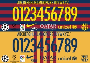 Barcelona 2016 font