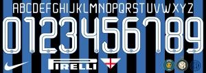 Inter 2016 font