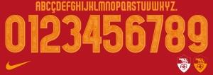 ASRoma2015 font