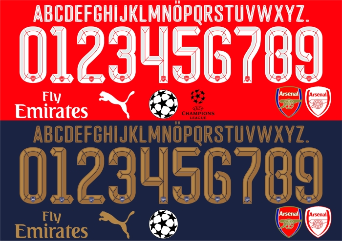 Arsenal2016font