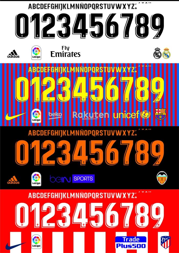 Barcelona 2019 font   Sport Fonts